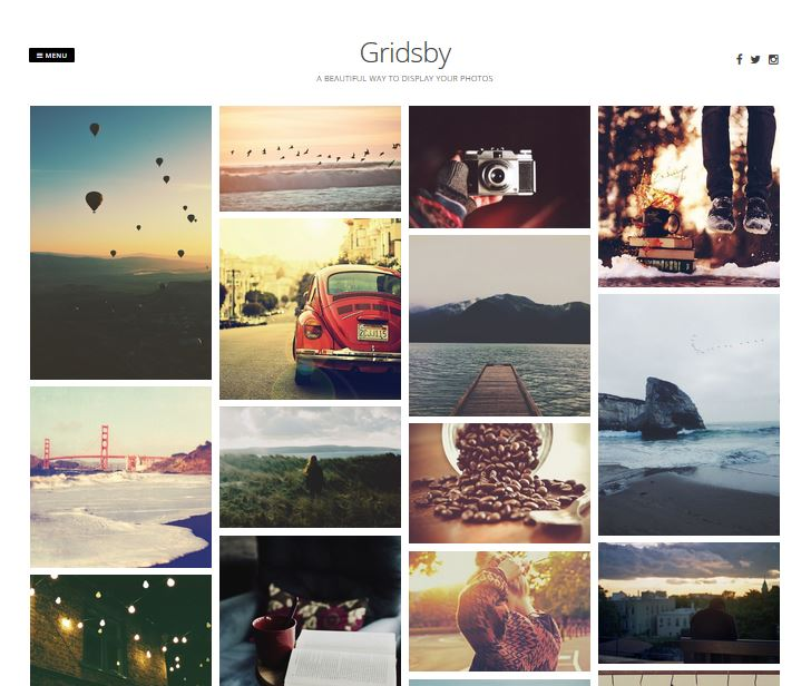 free responsive wordpress themes gridsby