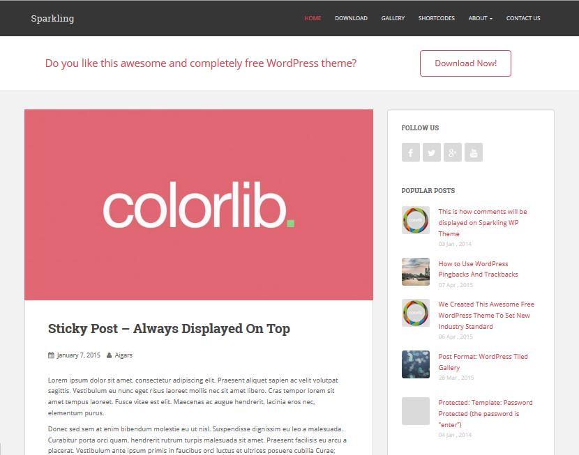 free blog templates wordpress - 17 best free responsive wordpress themes and templates 2016