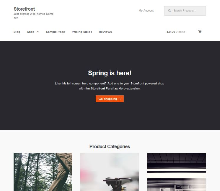 free responsive wordpress themes storefront