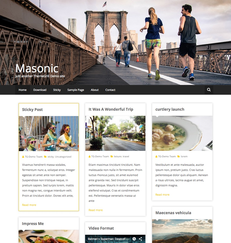 free blog templates wordpress 15 best free personal blog wordpress themes templates 2016
