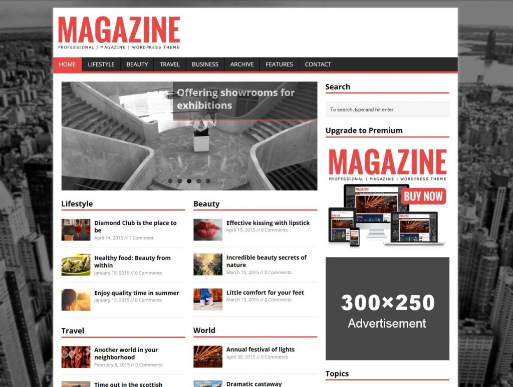 25 Best Free Responsive Magazine Wordpress Themes 2019