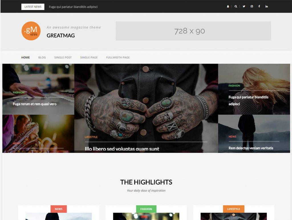 greatmag-wordpress magazine theme