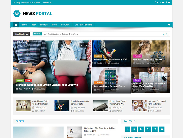 news-portal-free-wordpress-magazine-theme