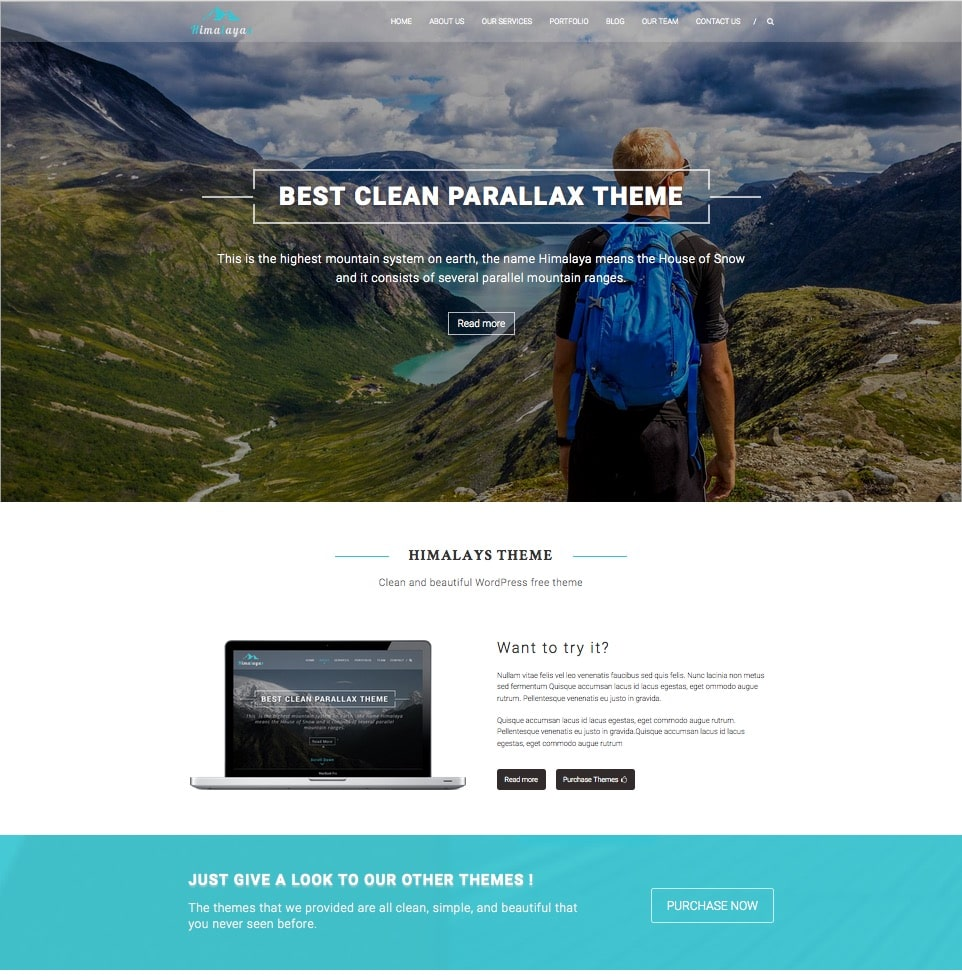 himalayas-free-responsive-one-page-theme
