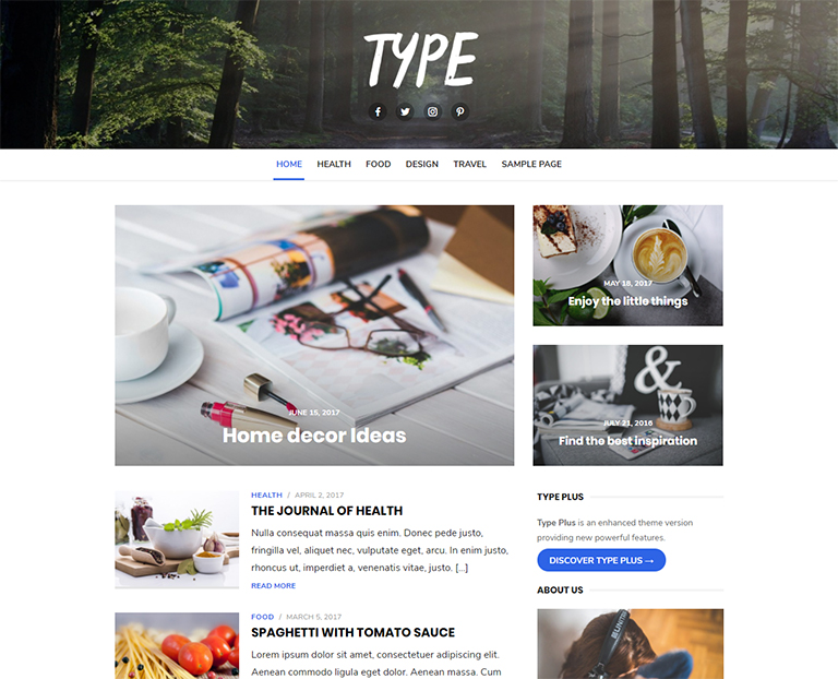 free-wordpress-themes-for-personal-blog-Type