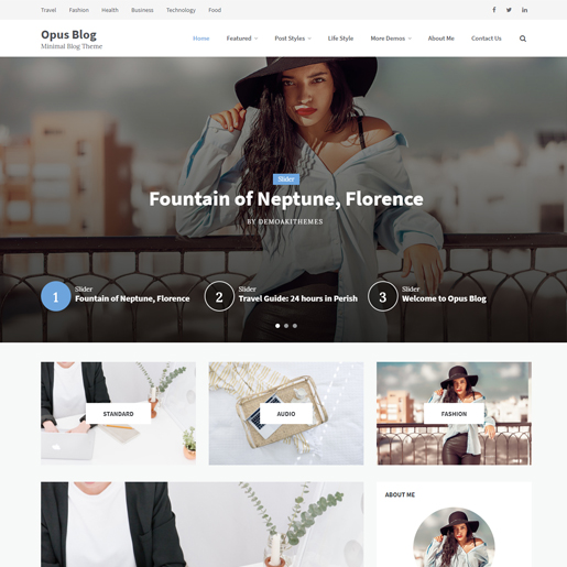 30+ Best Free Personal Blog WordPress Themes & Templates 2019