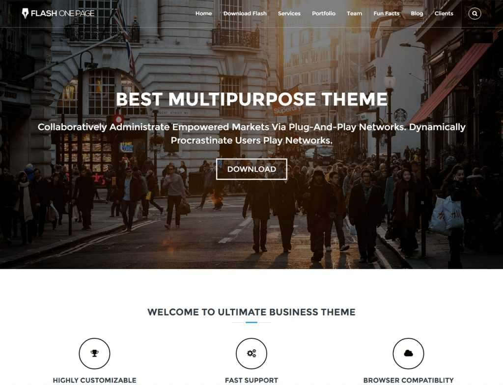 flash-one-page-parallax-wordpress-theme