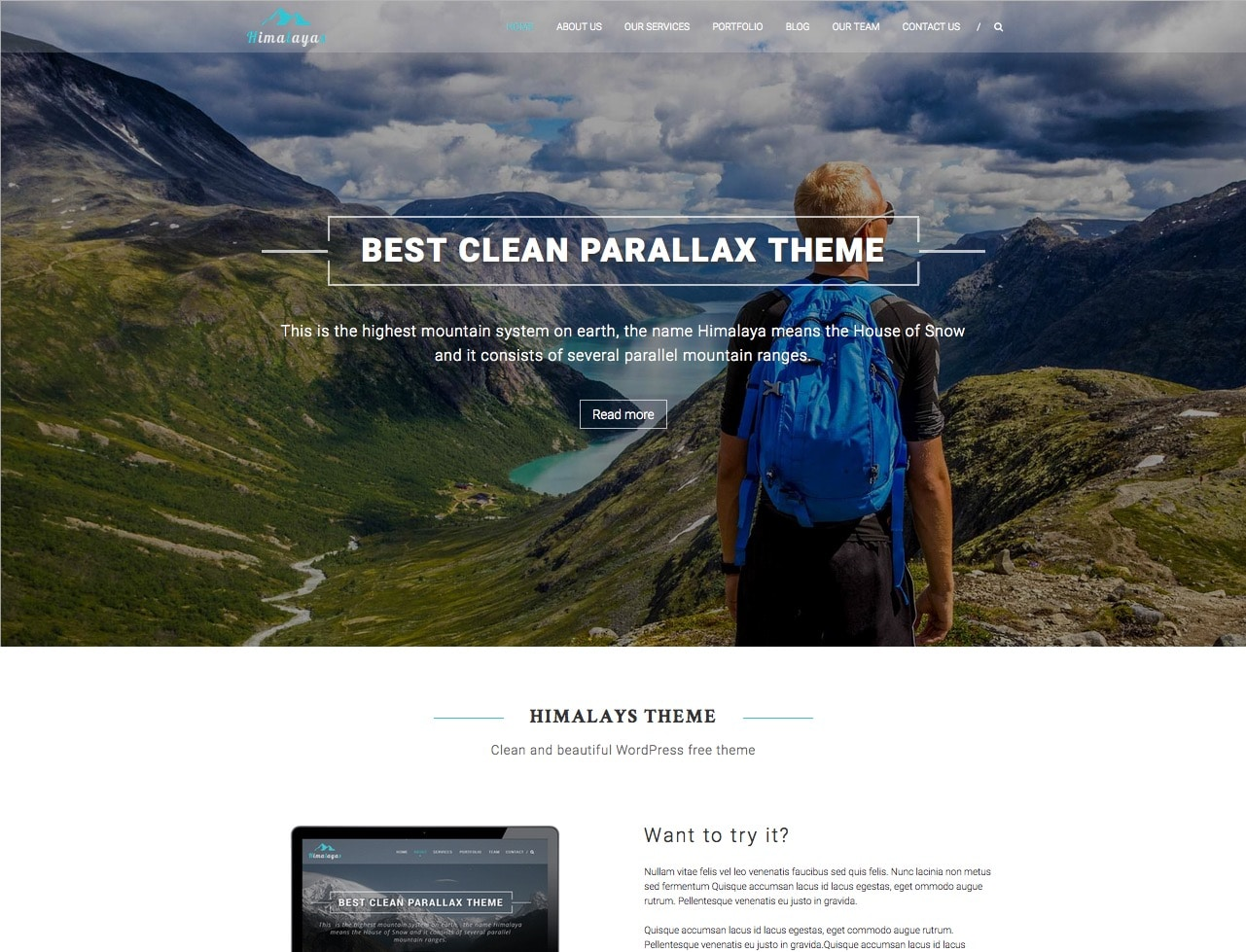 15+ Best Free One Page Parallax Responsive WordPress Themes to Build Awesome Single Page Sites for Portfolio, Business, Agency, Designers, Product Showcase and Other Many Purposes – 2019