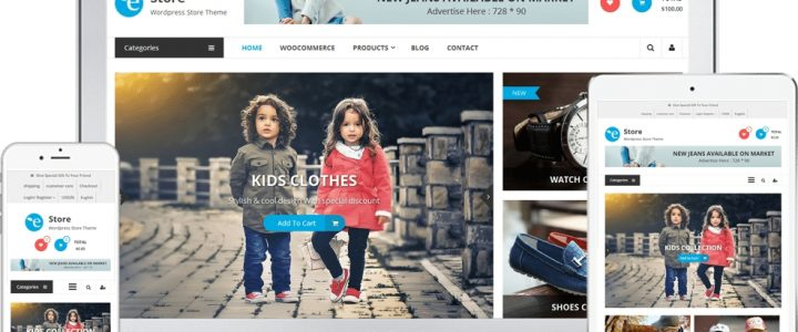 eStore Free WooCommerce WordPress Theme | All that you need to build an amazing eCommerce site for 2020