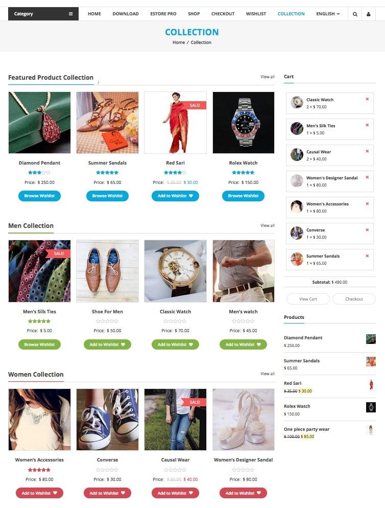 eStore Free Responsive WooCommerce WordPress Theme by ThemeGrill