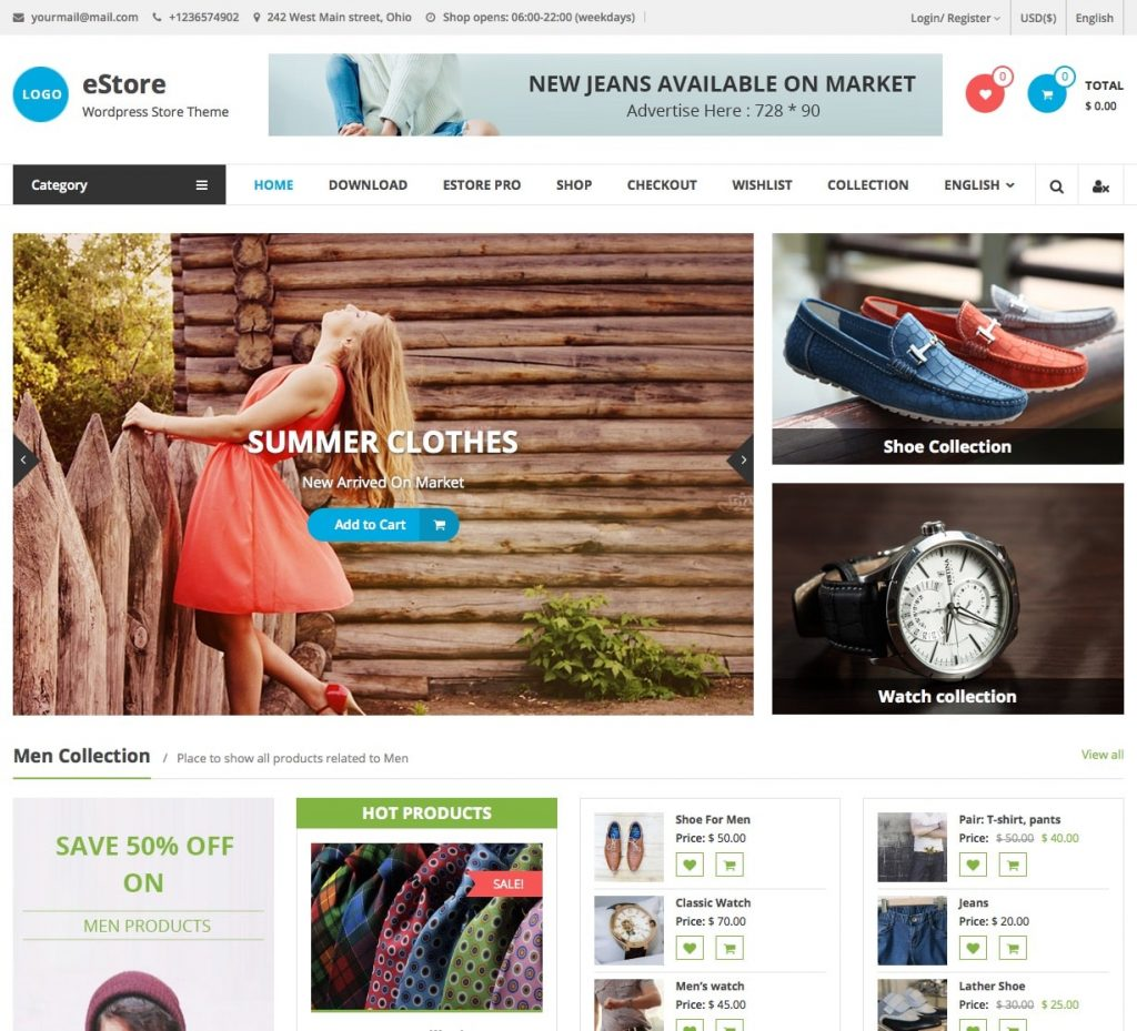 40 Best Free Wordpress Woocommerce Themes For 2019