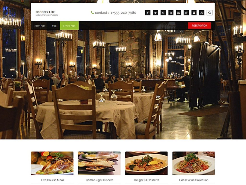 Classroom Theme Ideas Cafe ~ Best free responsive restaurant wordpress theme