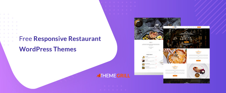 Free WordPress Restaurant Themes with Responsive Design