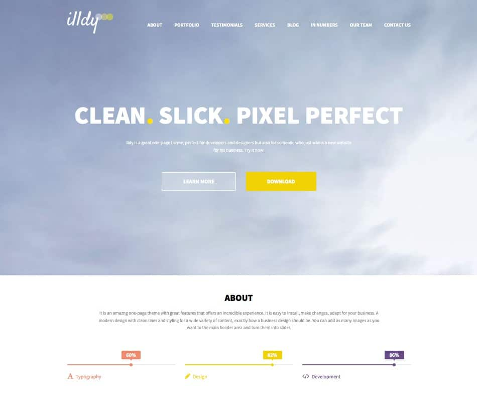 illdy-free-business-wordpress-theme