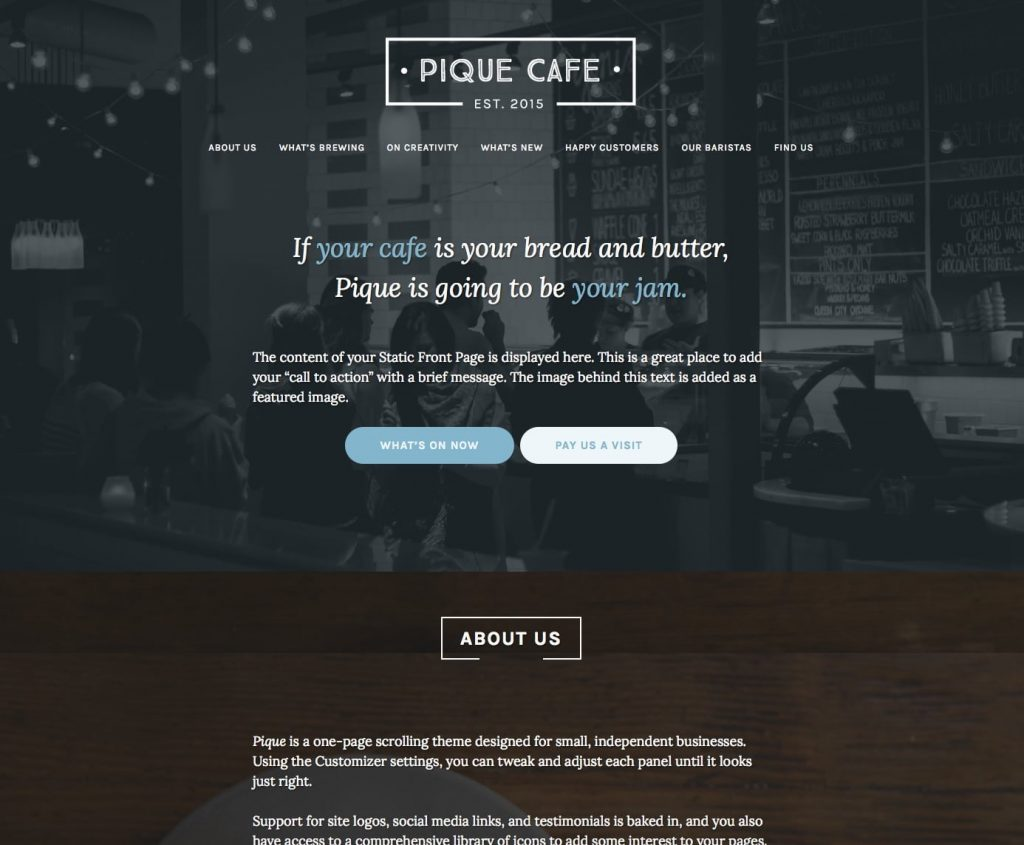 pique-restaurant-wordpress-theme