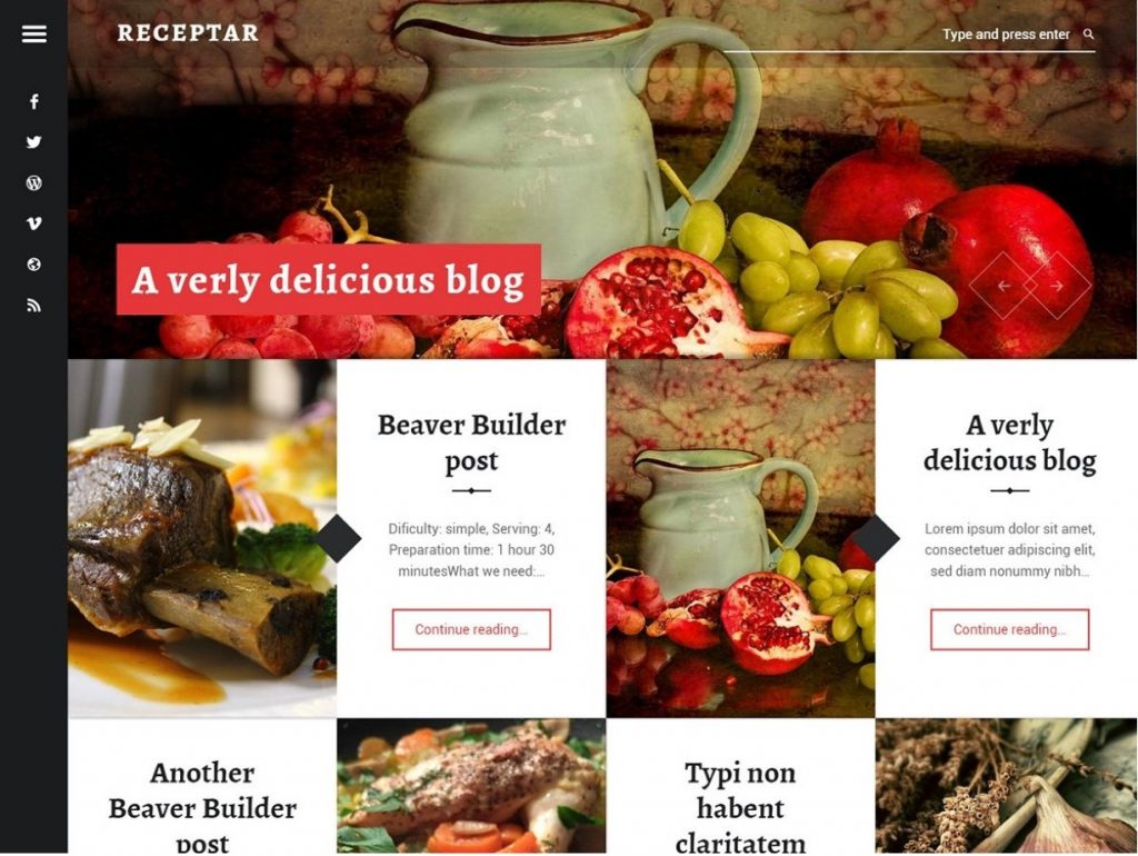 receptar-restaurant-wordpress-theme