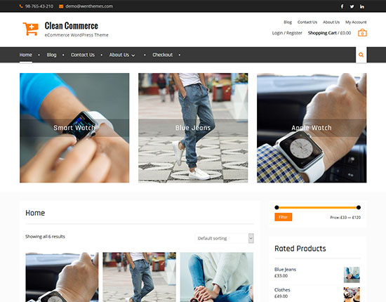 clean-commerce-free-woocommerce-theme