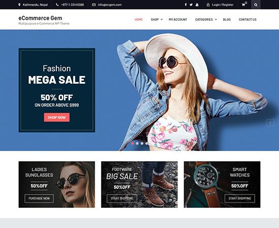 eCommerce-gem-free-WooCommerce-themes