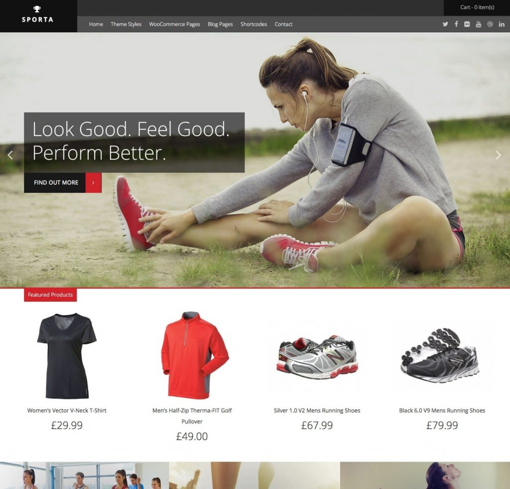 40 Best Free Wordpress Woocommerce Themes For 2019 This Theme Fits Beautifully Into The Overall Style Of Game Sporta Is Yet Another Beautiful In List To Create Powerful Sports Store As Well Different Types Online Stores