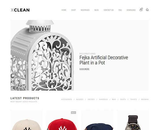 xclean-wordpress-ecommerce-theme