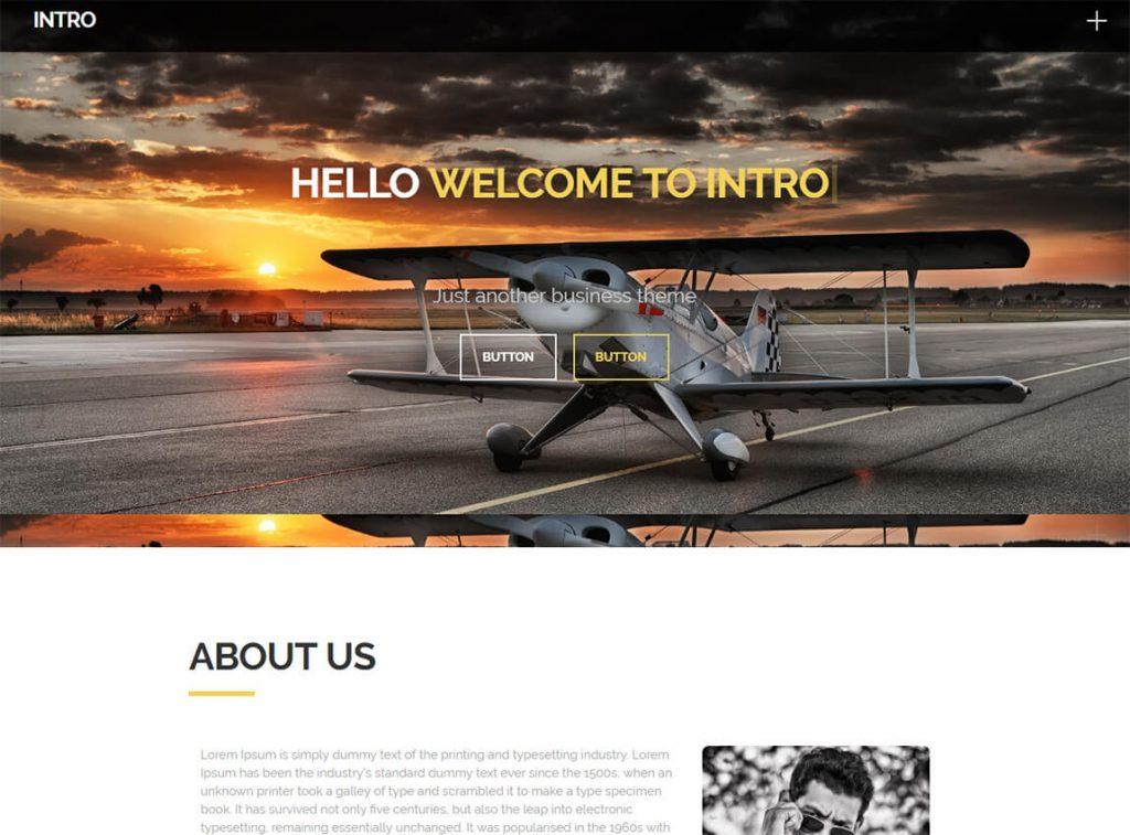 intro-free-landing-page-theme