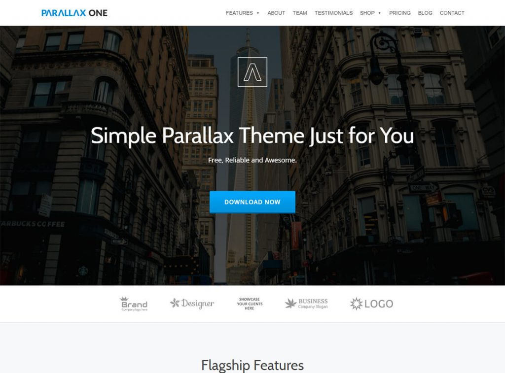 parallax-one-free-wordpress-landing-page-theme