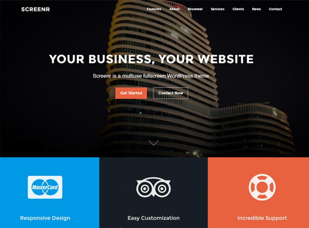 screenr-free-wordpress-landing-page-theme