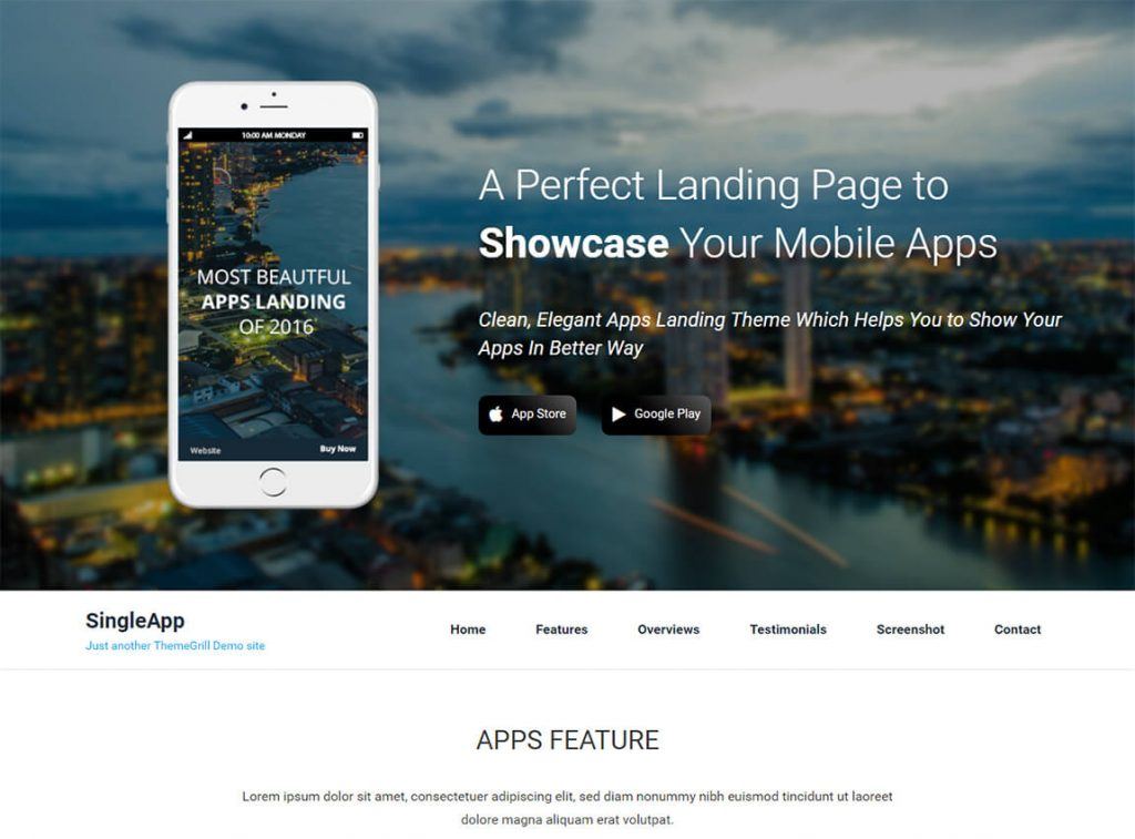 20 Best Free Wordpress Landing Page Themes And Templates 2019