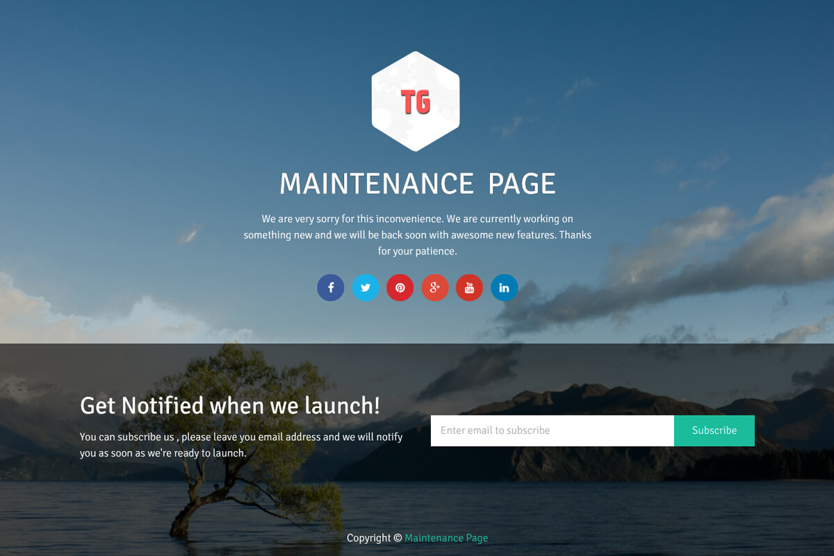 maintenance-page-wordpress-plugin-demo