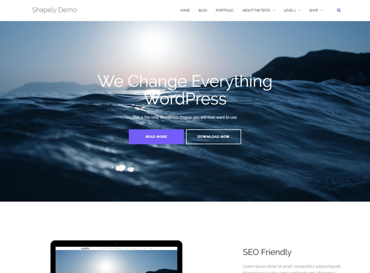 shapely-wordpress-landing-page
