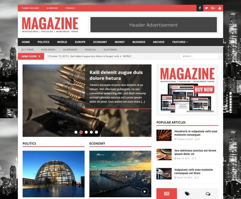 MH Magazine -best premium wordpress themes