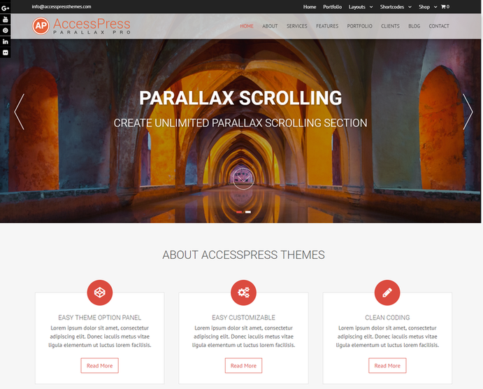 Parallax Pro Access Press