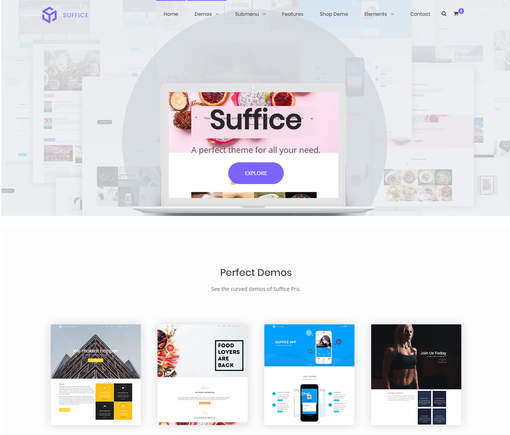 Suffice Pro WordPress Theme