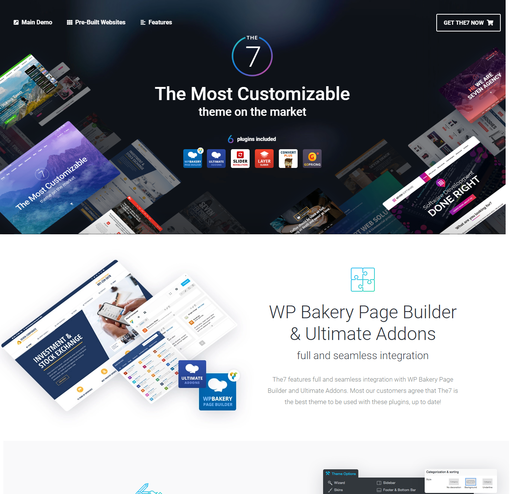 The7 Premium WordPress Theme