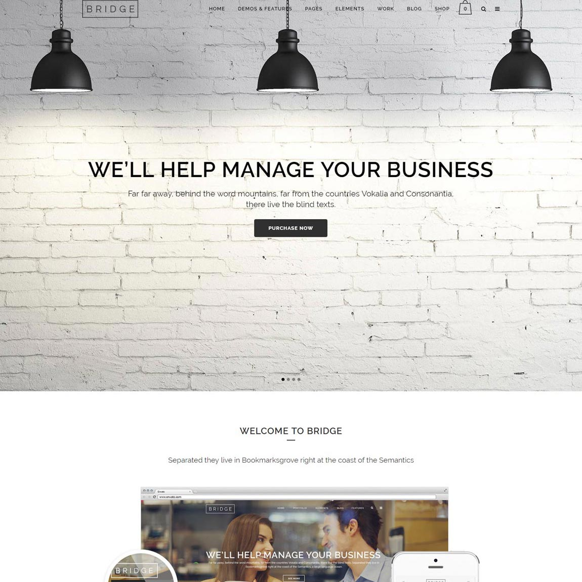 bridge-best-wordpress-theme