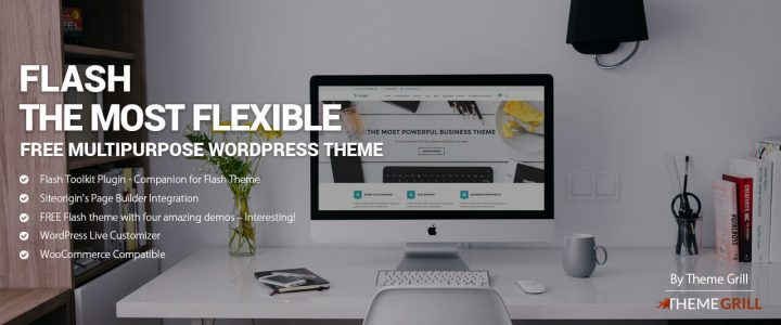Introducing Flash – The Most Flexible FREE Multipurpose WordPress Theme Ever