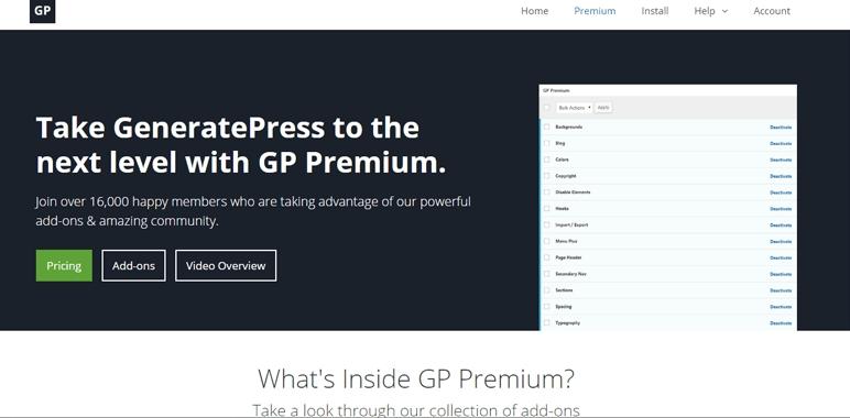 generatepress-premium-black-friday-deal-2016