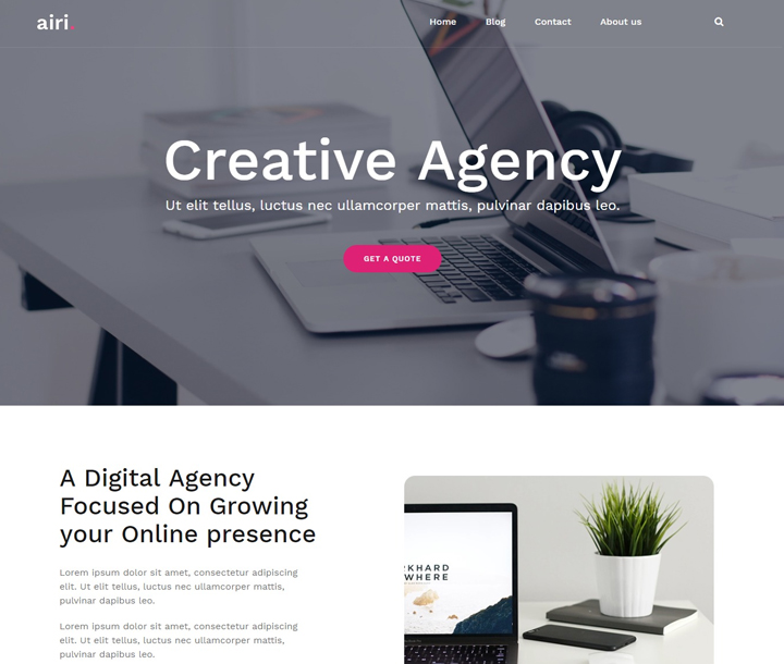 airi-free-wordpress-business-themes