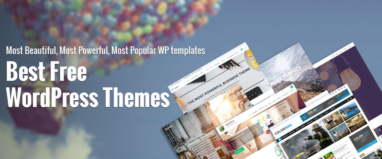 55+ Best FREE WordPress Themes and Templates for 2018