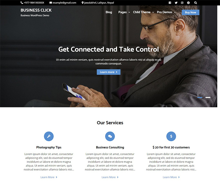 business-click-free-wordpress-business-theme