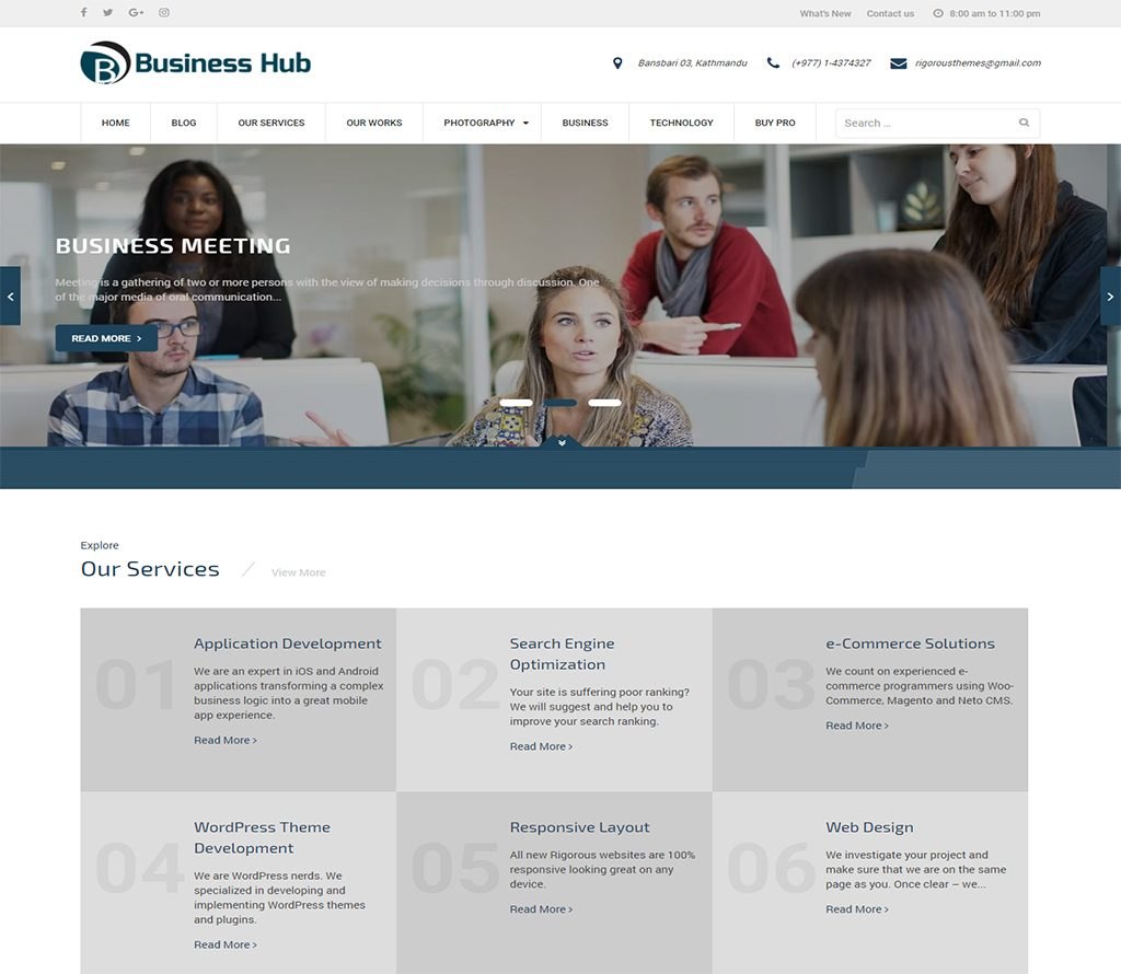business-hub-wp-business-theme