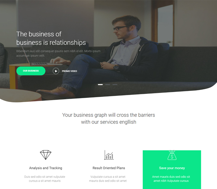 nexa build free wordpress business themes