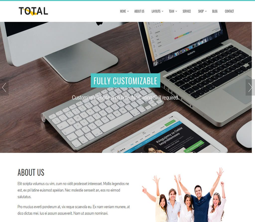 total-free-business-theme