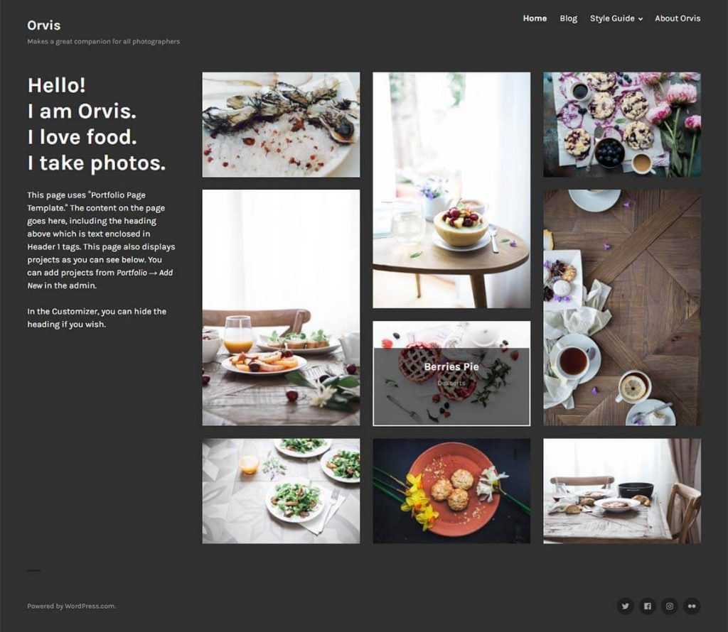 Orvis-free-wordpress-portfolio-theme