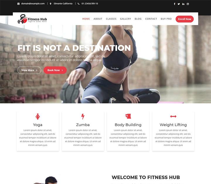 free-wordpress-fitness-themes-fitness-hub