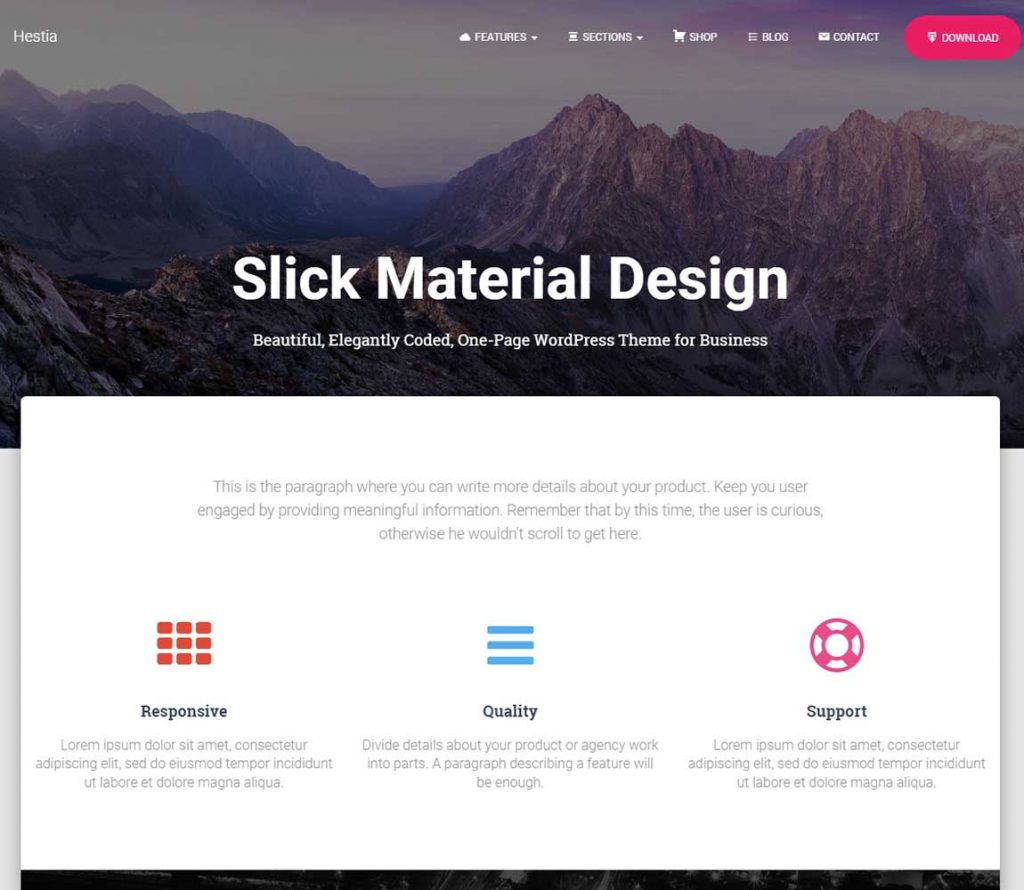 hestia-material-design-free-wordpress-theme