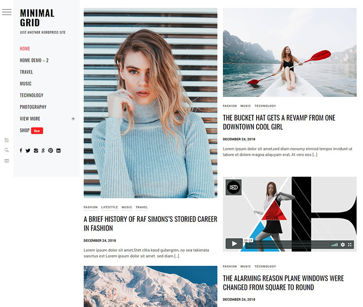 minimal-grid-free-wordpress-portfolio-theme