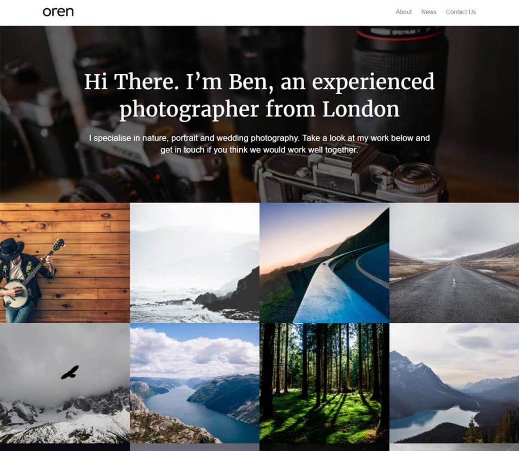 oren-free-wordpress-theme-portfolios