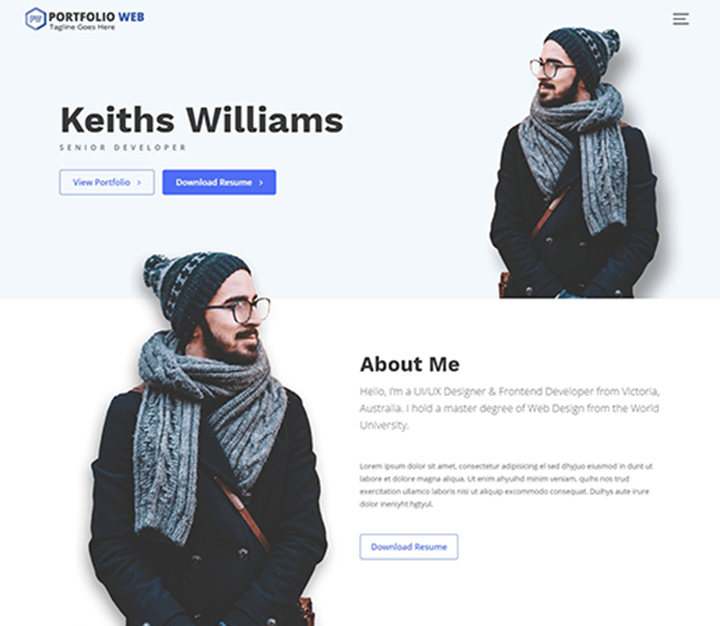 portfolio-web-free-wordpress-portfolio-themes