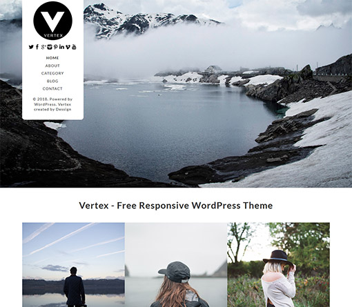 vertex-free-wordpress-blog-theme